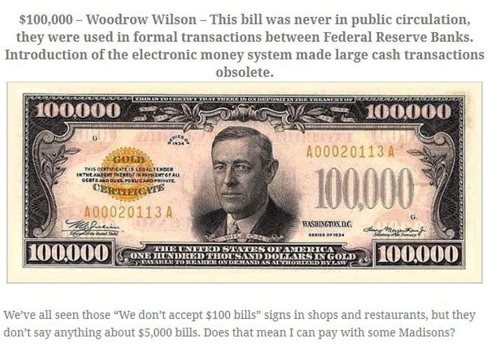 Rare Bills From the Past (5 pics)