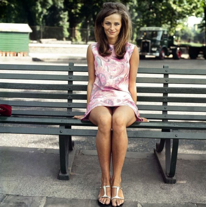 Charlotte Rampling Then and Now (2 pics)