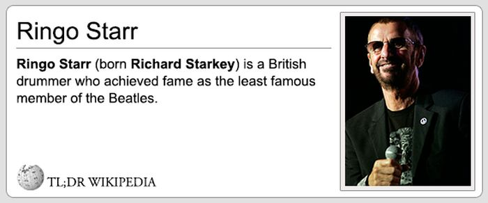 If Wikipedia Entries Were Honest (23 pics)