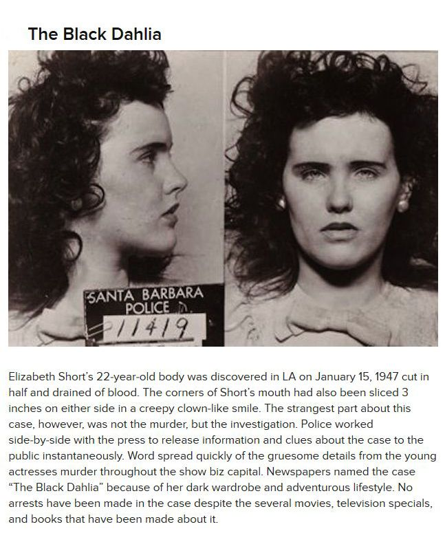 Bizarre Unsolved Crimes (9 pics)