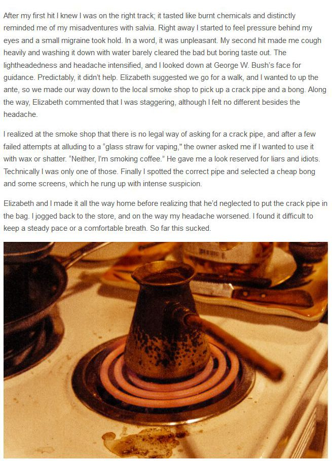 Smoking Coffee Grounds. How Does It Feel (11 pics)