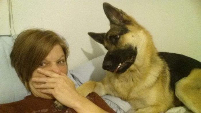 Someone Farted While Taking Selfies (5 pics)