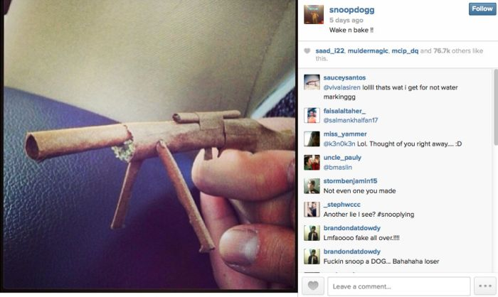 The Сoolest Blunts on Instagram (27 pics)