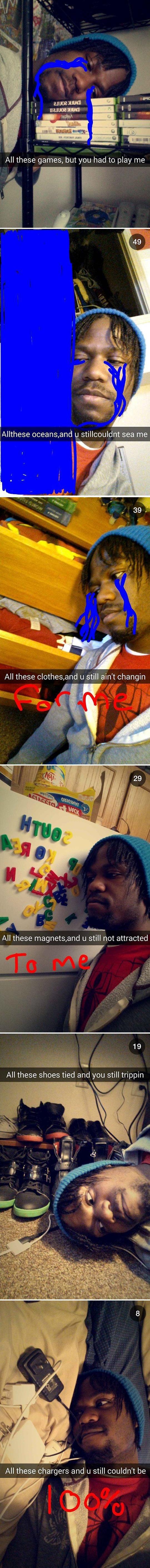 Funny Snapchat Photos. Part 2 (24 pics)