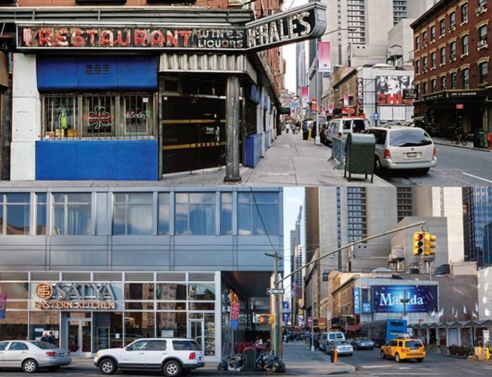 New York City Stores Then and Now (14 pics)
