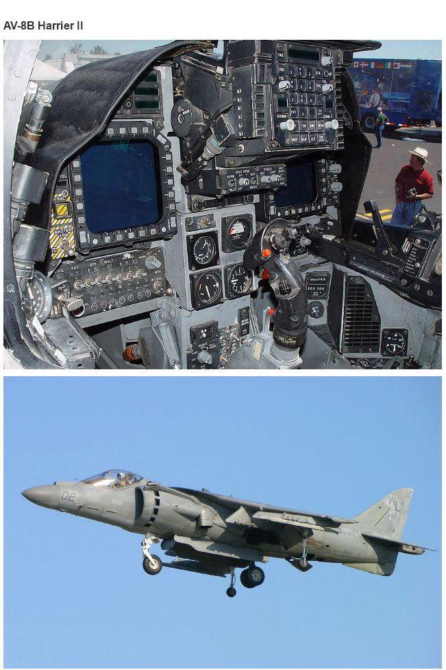 Cockpits of Planes and Tanks (17 pics)