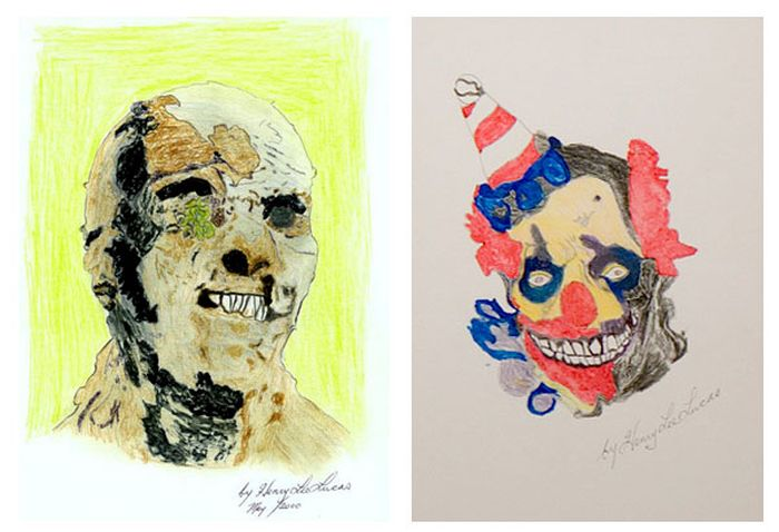 Art Created by Serial Killers (10 pics)