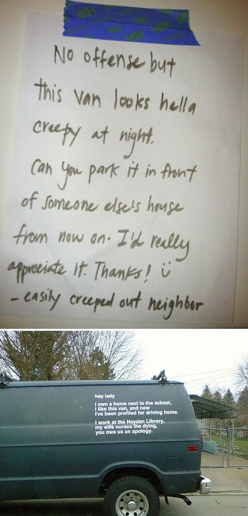 Smart Ass Responses to Written Notes (27 pics)