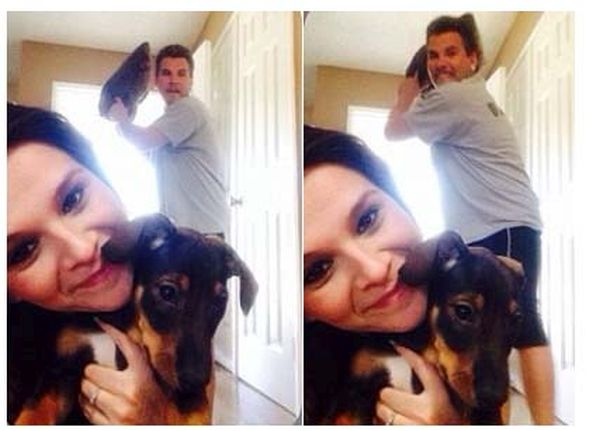 Her Boyfriend Hates Selfies (3 pics)