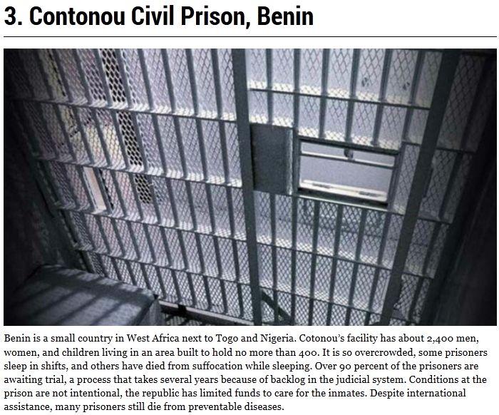 World's Most Dangerous Prisons (10 pics)