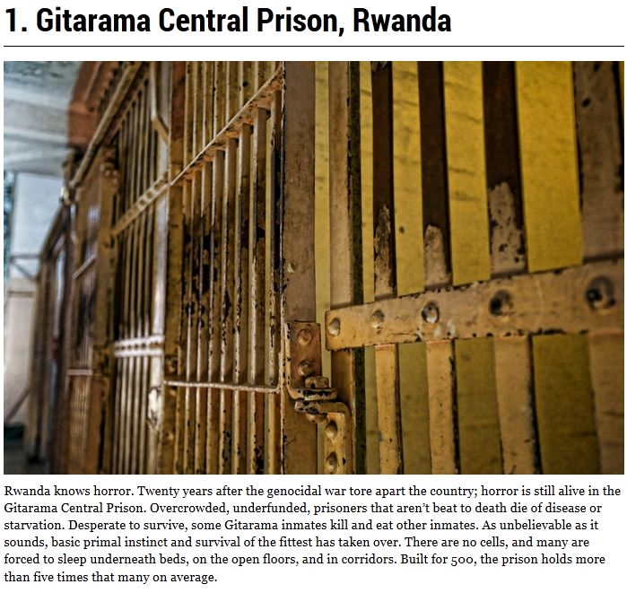 World's Most Dangerous Prisons (10 pics)