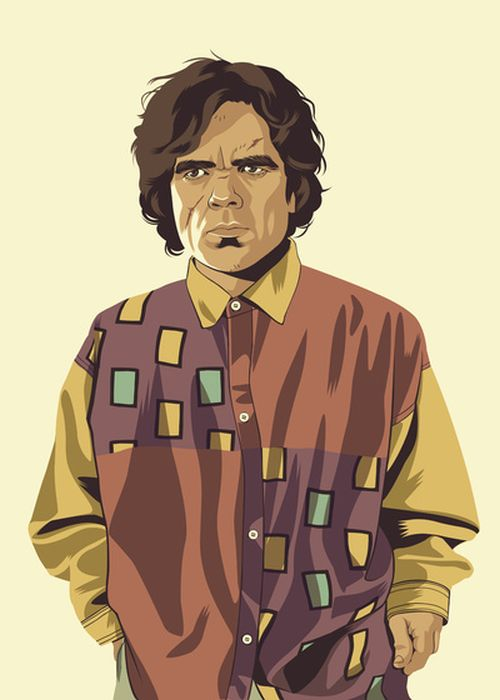 Game of Thrones Characters Re-imagined in 80s/90s Style (13 pics)