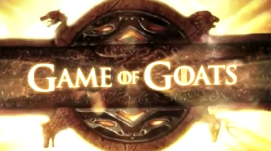 'Game of Goats' Funny Remake