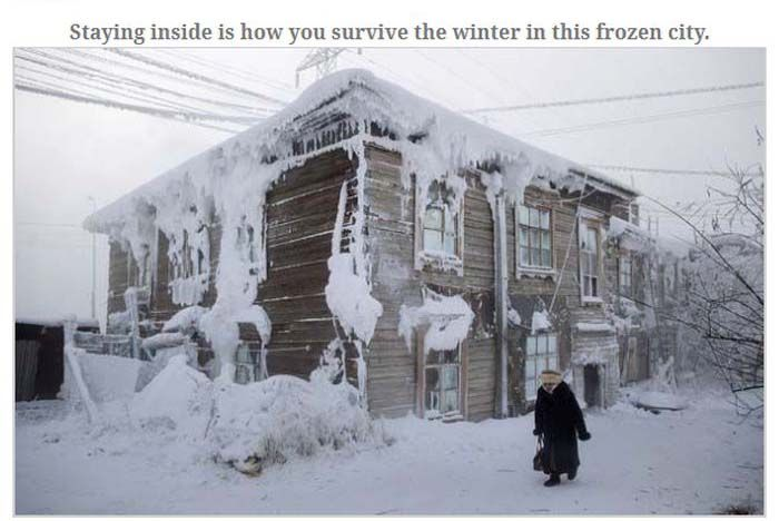 Russian City of Yakutsk (14 pics)