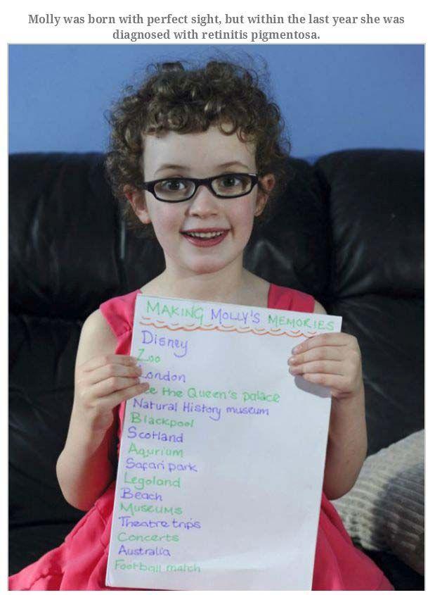 Blind Daughter Bucket List (13 pics)