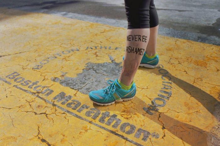 Boston Marathon Bombing Survivors Return to Finish Line (6 pics)