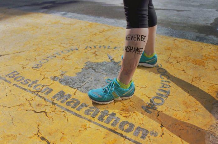 Boston Marathon Bombing Survivors Return to Finish Line (6 pics)