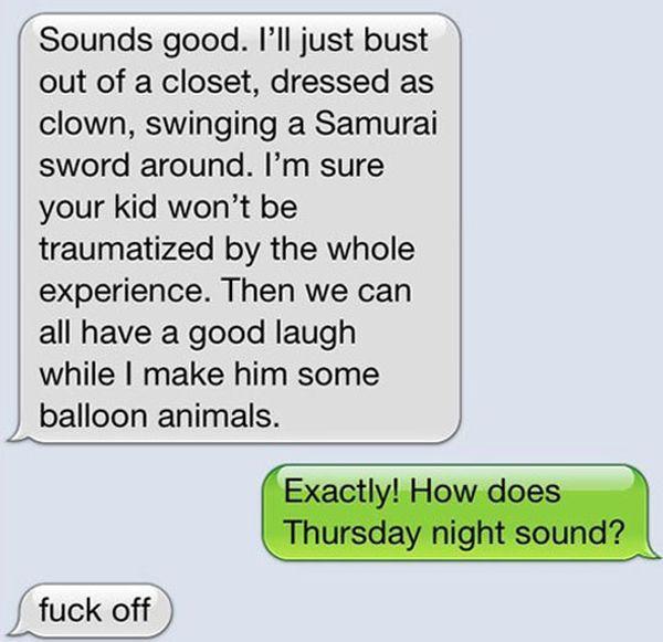 Trolling a Clown (5 pics)