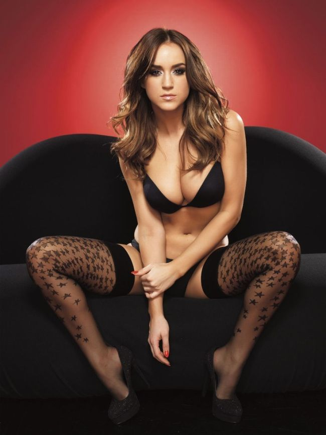 Photos of Rosie Jones, the Sexiest Brunette in the World (13 pics)