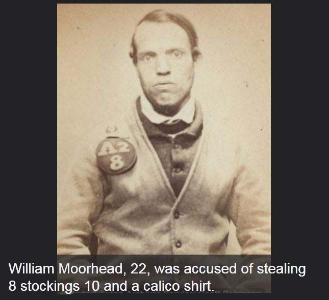 The First-Ever Mugshots (23 pics)