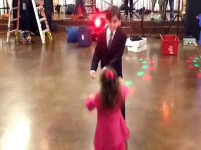 Dancing Boy Rejects a Girl