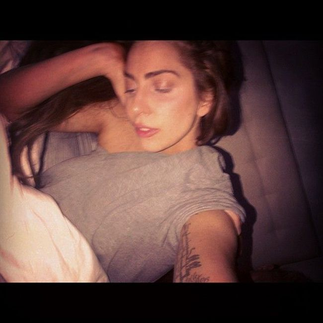 Lady Gaga Without Makeup (5 pics)