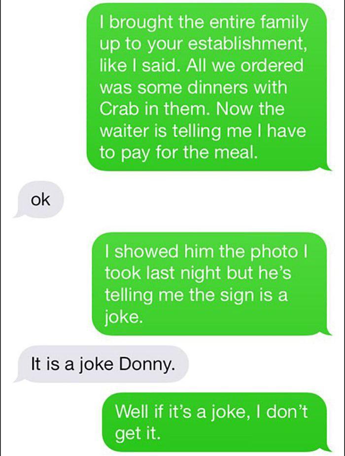 Trolling Joe's Crabshack Manager (10 pics)
