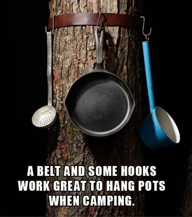 Camping Life Hacks (41 pics)