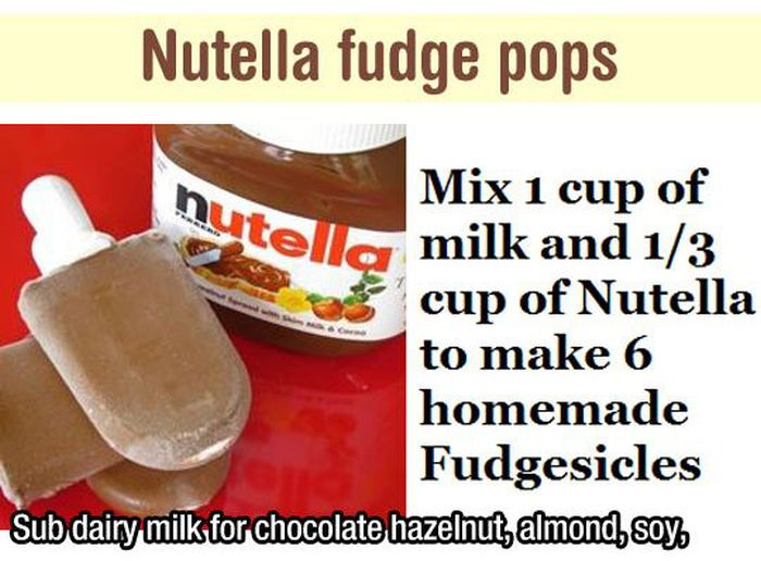 Nutella Recipes (17 pics)