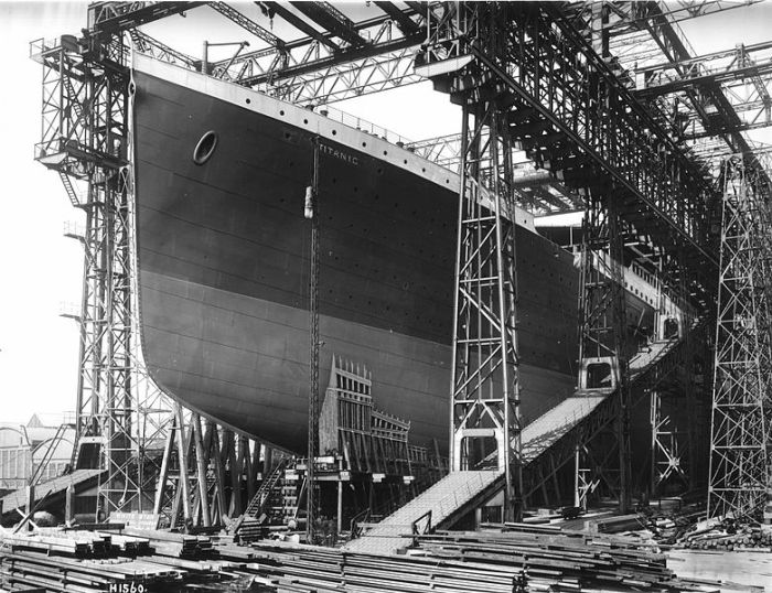Rare Photos of Titanic (20 pics)