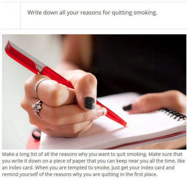 How to Quit Smoking (25 pics)
