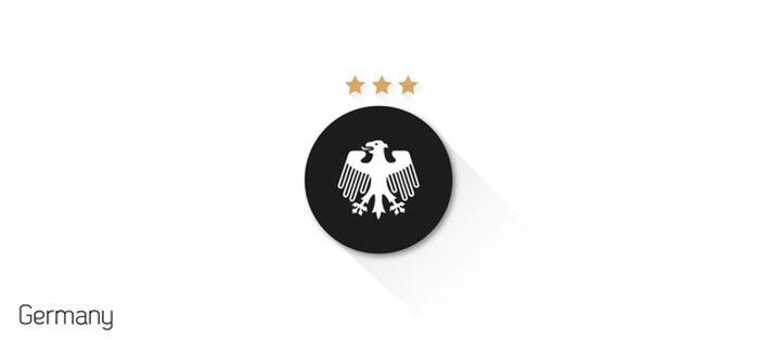 Minimalist Fifa World Cup Flat Design Shields (33 pics)