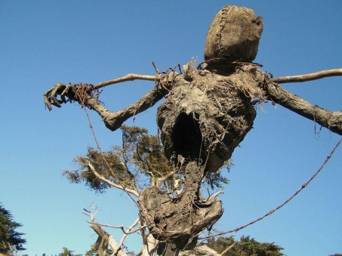 Scary Scarecrow (5 pics)