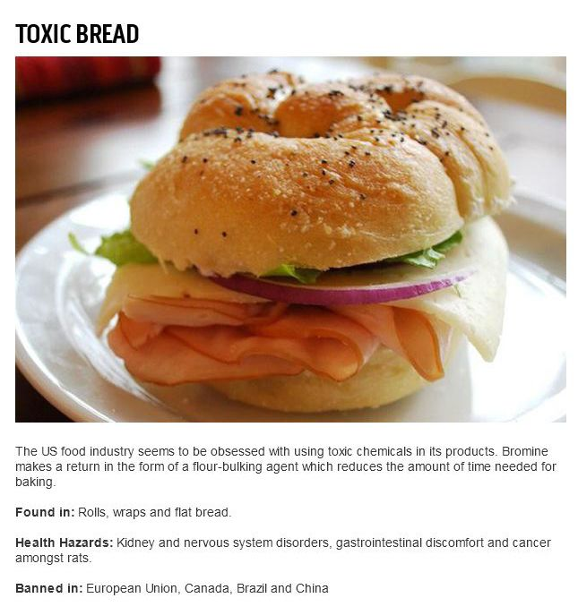 Banned Food Items That Americans Are Still Eating (16 pics)