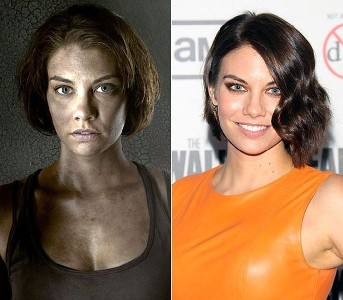 See What The Stars Of The Walking Dead Look Like Off Camera (18 pics)