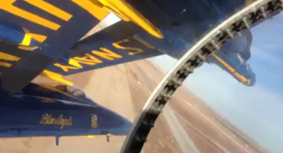 Incredible 'Blue Angels' Jet Piloting Skills