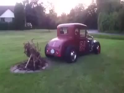 How to Make a Fire With Hot Rod