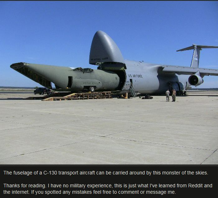 See How Many Things You Can Fit In A C-5 Galaxy? (10 pics)