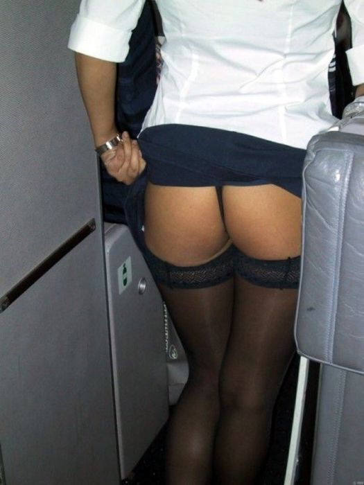 Flight Attendants Looking To Join The Mile High Club (22 pics)