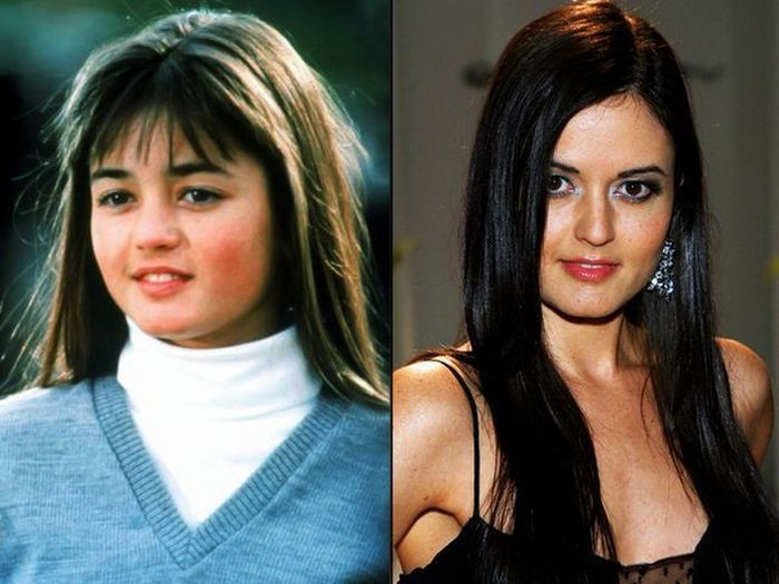 Your Favorite Celebs Then And Now (45 pics)