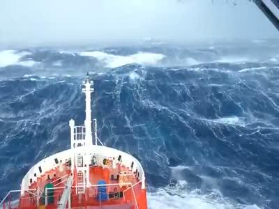Massive Storm In The Indian Ocean
