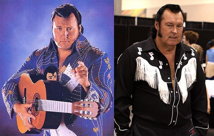 Pro Wrestlers Back In The Day And Today (20 pics)