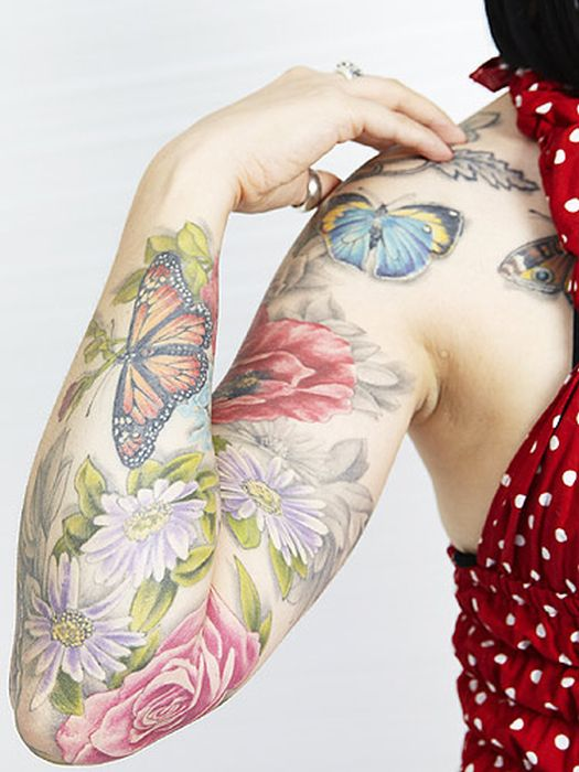 Amazing Nature Tattoos You Have To See (50 pics)