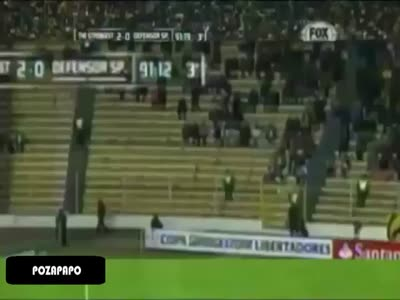 Ghost Caught On Tape During A Soccer Game