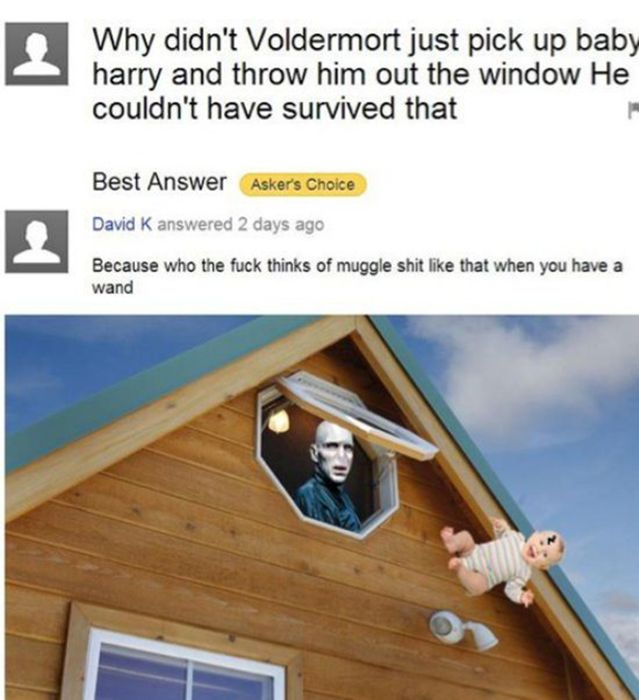 You Read The Weirdest Things On Yahoo Answers (24 pics)