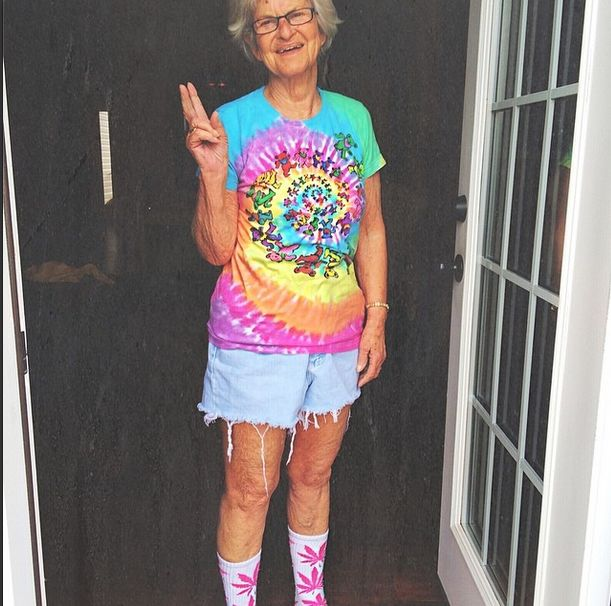 This Bad Grandma Is Out Of Control (21 pics)
