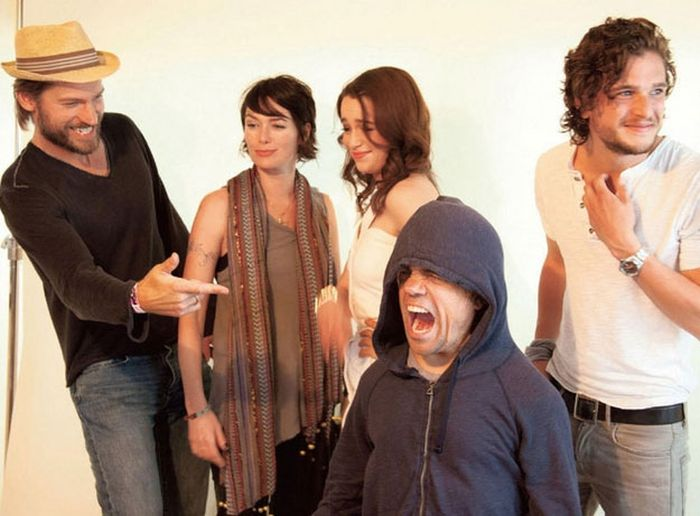 The Game Of Thrones Cast Gets Goofy (33 pics)