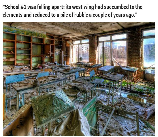 What Chernobyl Looks Like After The Nuclear Disaster (25 pics)
