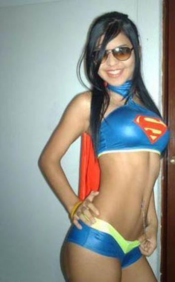 Girls Looking Good In Superhero Undies (53 pics)