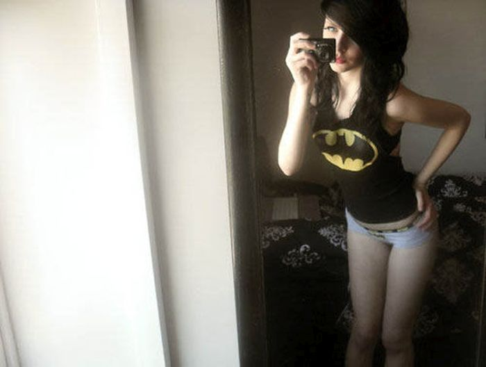 Girls Looking Good In Superhero Undies (53 pics)
